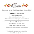 November Events - Centura Hills Golf Club