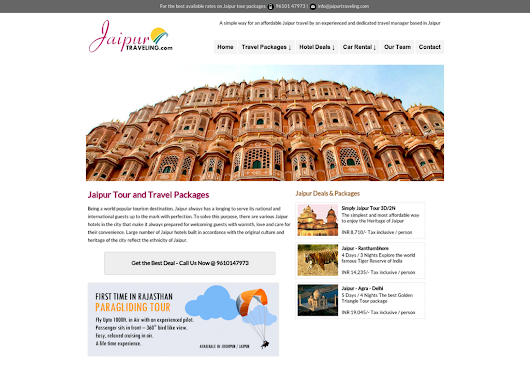 Jaipur Travel Tourism, Jaipur Car Rental | Visual.ly