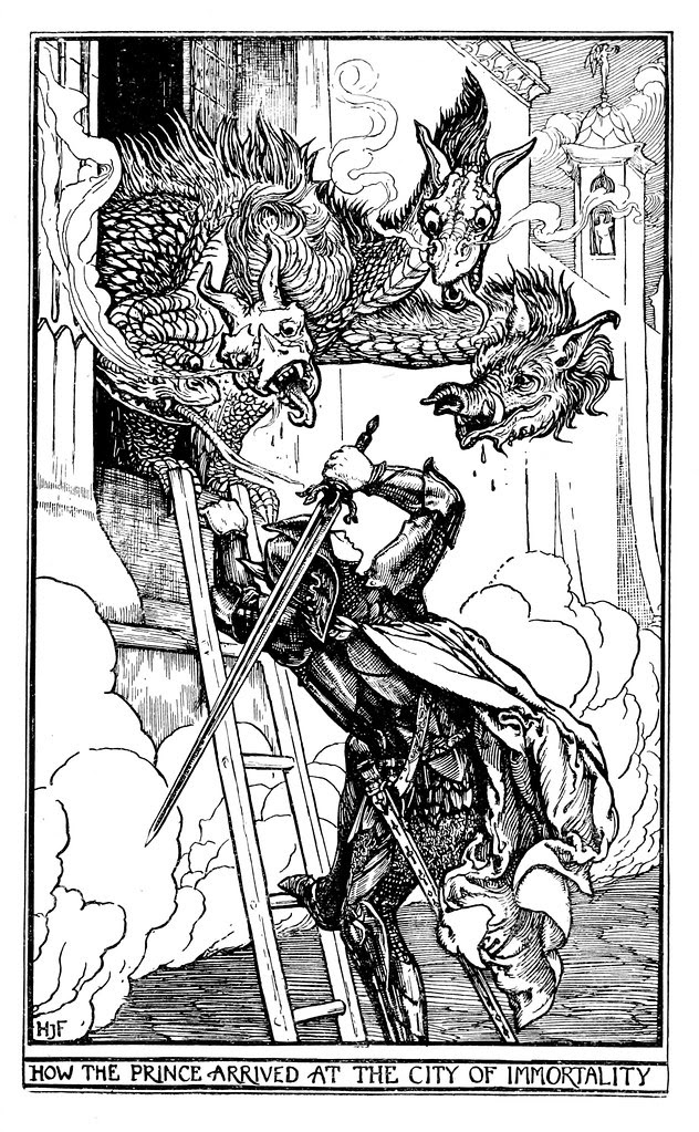 Henry Justice Ford - The crimson fairy book, edited by Andrew Lang, 1903 (illustration 10)