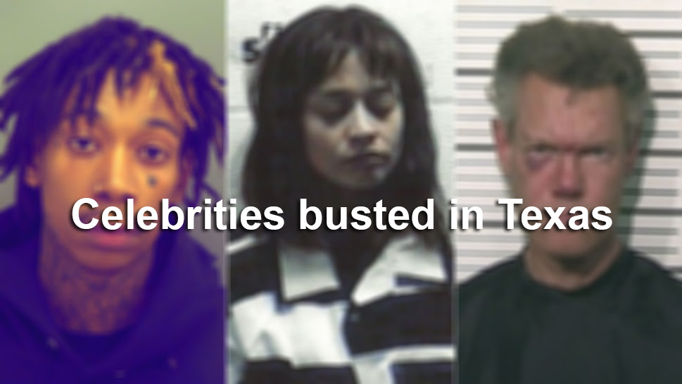They messed with Texas: Celebrities busted in the Lone ...