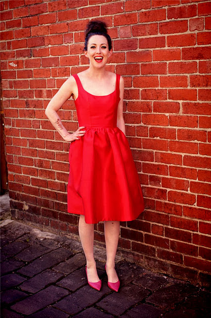 Frocktails 2016 Dress aka Lady In Red