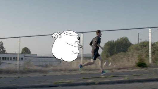 Matthew Inman of The Oatmeal Explains Why He Runs in This Cool, Funny Saucony Ad