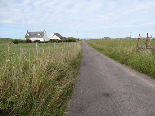 Road across Iona