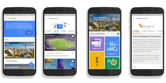 Google Launches its Trips App for Travel Lovers - GoAndroid