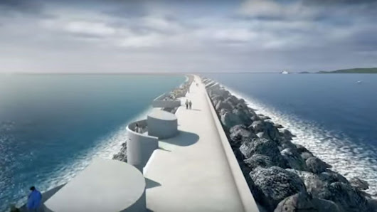 Tidal lagoon: £1.3bn Swansea Bay project backed by review - BBC News
