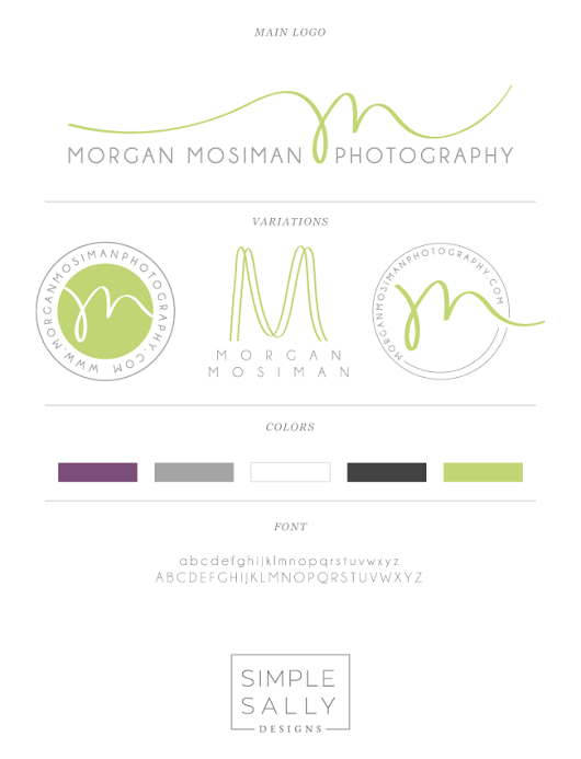 Small business logo design | Morgan Mosiman Photography