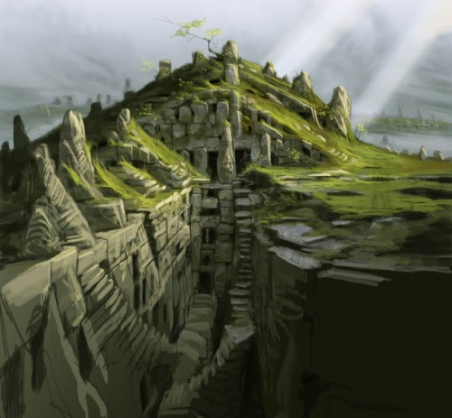 Elder Scrolls V: Skyrim. New Environment Landscape Concept Art.