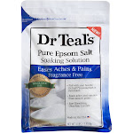 Dr Teal's Epsom Salt, Pure, Fragrance Free - 4 lbs (1.81 kg)