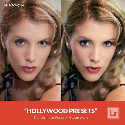 Free Lightroom Preset Hollywood
