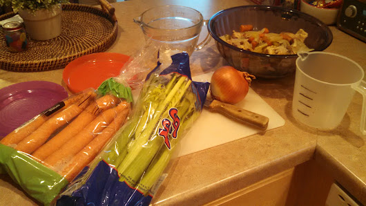 Chicken Soup – Part 2 – Cooking and Canning