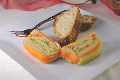 Chickpea Pâte with Vegetables