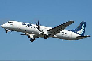 SATA Air Açores British Aerospace ATP at Lajes...