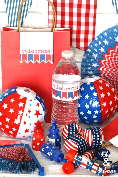 fourth of july fireworks show goody bags