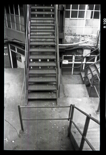 metal staircases by pho-Tony