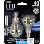 Feit A15 Dimmable Led Light Bulb - 2 pack