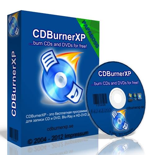 CDBurnerXP 4.5.2.4255 FINAL + Portable