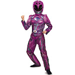 2017 Pink Ranger Deluxe Child Costume