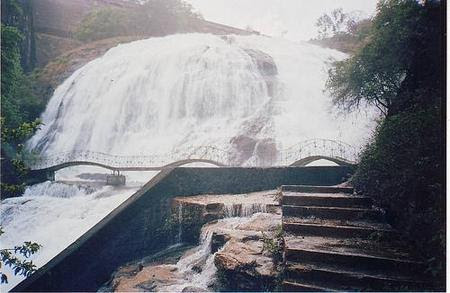 Umbrella falls, India waterfall
