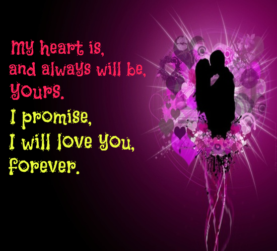 My Heart Is Yours Forever Free Forever Ecards Greeting Cards 123