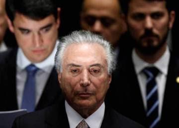 Los fantasmas obligan al presidente de Brasil a dejar la residencia presidencial