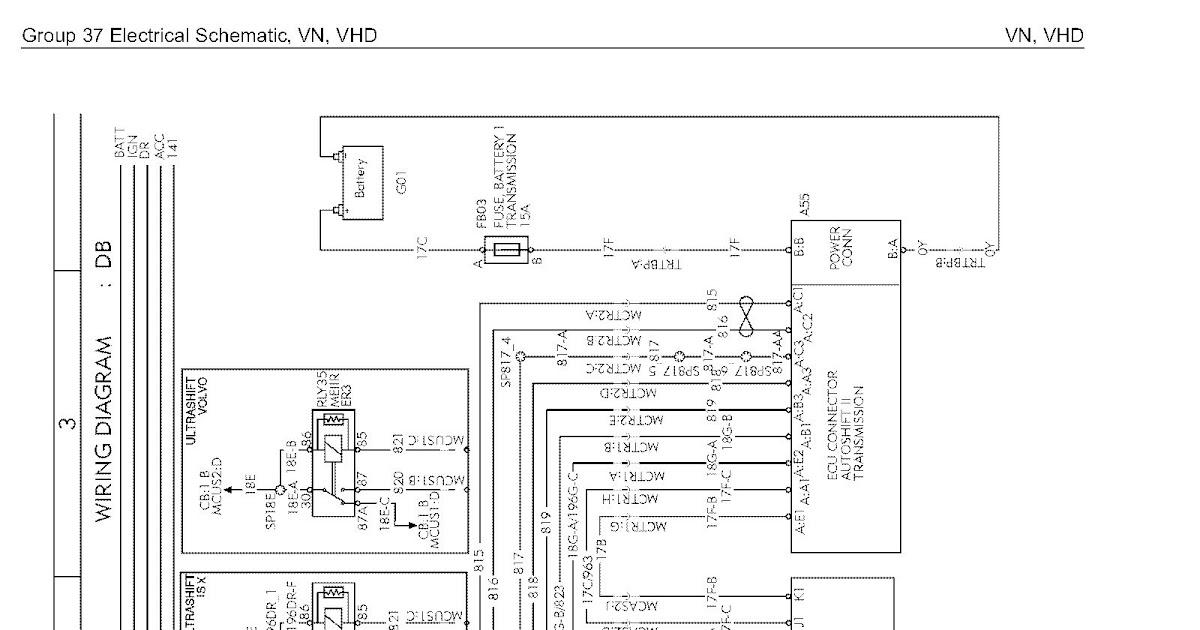 wiring diagram volvo vnl