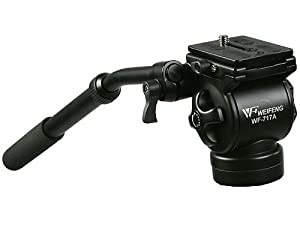Ephoto Professional Video Camera Fluid Drag Tripod Head By Ephoto