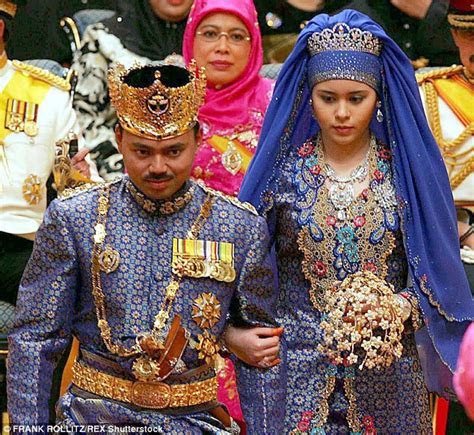 Prince of Brunei married in opulence and the most
