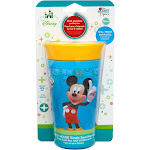 The First Years Cup, Simply Spoutless, Mickey Mouse, 360 Degrees, Spill Proof, 9 Ounce