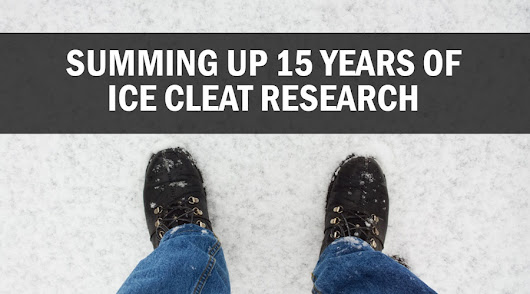 Summing Up 15 Years of Ice Cleat Research