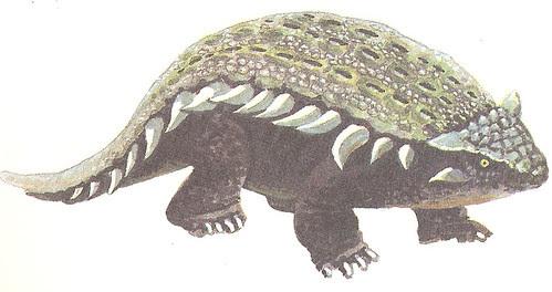 Ankylosaurus by John R. Jones