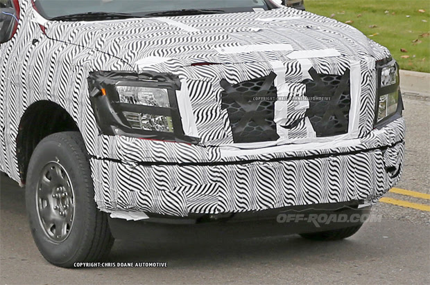 Check out More 2016 Nissan Titan Spy Photos