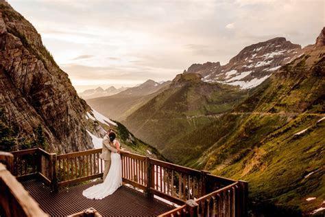 Top 5 Spots in Glacier National Park to Elope   Glacier