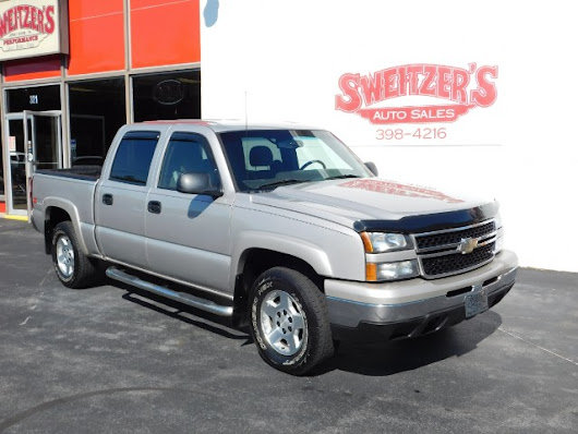 Used 2007 Chevrolet Silverado 1500 Z71 Crew Cab 4WD for Sale in Jersey Shore PA 17740 Sweitzer's Auto Sales