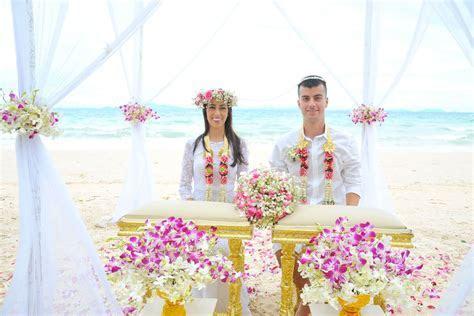 Thai Style Wedding Ceremony Packages : Krabi, Thailand