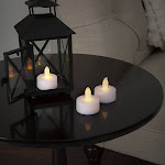 Lavish Home 72-0240 LED Tea Light Candle Set - 24 Piece