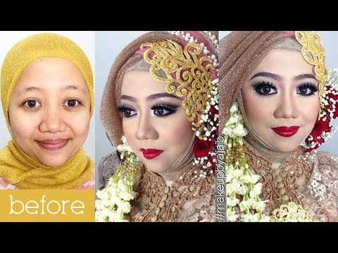 VIDEO : tutorial makeup wedding muslim by inivindy + simpel hijab tutorial - tutorialmakeup untuk wedding muslimah, pada waktu test makeup aku videoin step by stepnya.. semoga bisa bermanfaat ya. ...