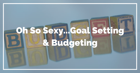 Oh So Sexy: Goal Setting And Budgeting | The Common Cents