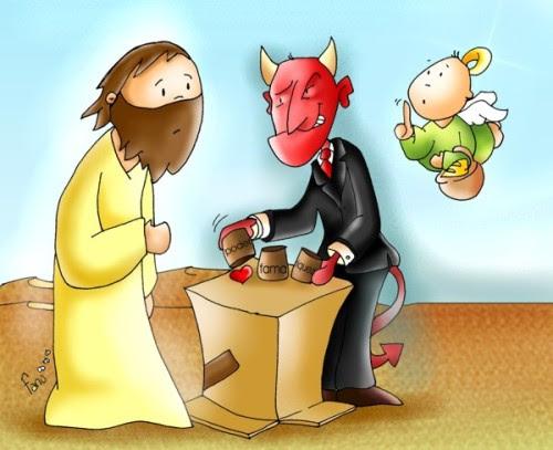 diablo y santo tentacion