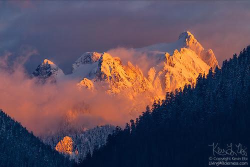 Whitehorse Mountain, Boulder River, Washington