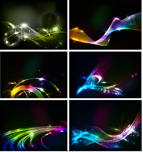 Behind the dynamic flare vector Free Vector / 4Vector