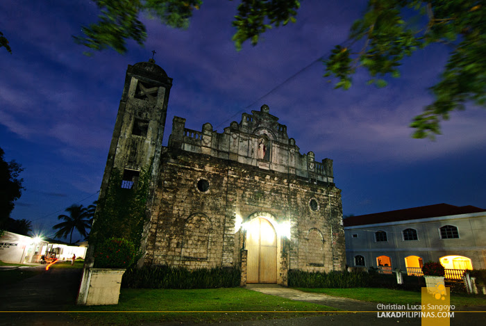Early Evening at St. John Nepomucene Church in Tangalan, Aklan