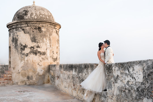 Sneak Peek - Sarah and Jorge - Destination Wedding in Cartagena, Colombia at Casa Pestagua Hotel