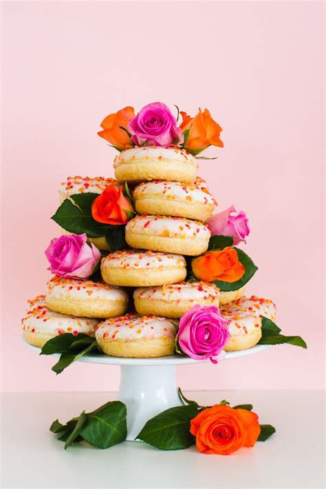 HOW TO MAKE YOUR OWN DONUT WEDDING CAKE STAND   Bespoke