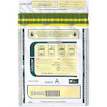 SafeLOK Series A Deposit Bag, White, 100/Pack 585089
