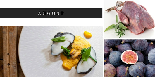 Which ingredients are in season in August?