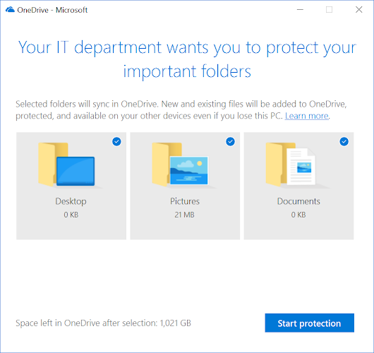 How to deploy OneDrive Known Folder Move with Intune