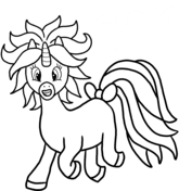 740 Dabbing Unicorn Coloring Pages For Free