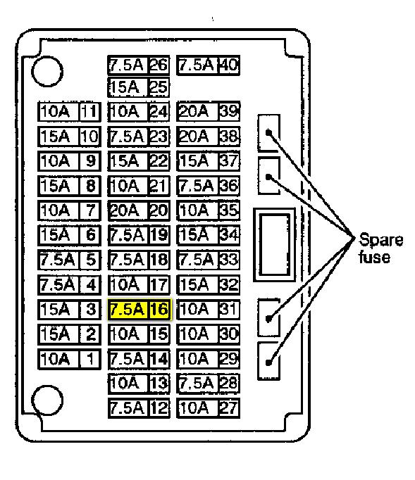 Infiniti I35 Relay Diagram | Online Wiring Diagram