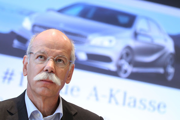 Who is the ceo of mercedes benz in germany