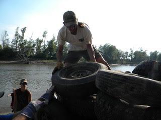 Brunswick Missouri and Grand River Clean-up 5-19-12
